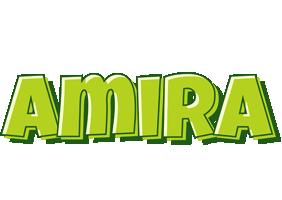 Amira summer logo