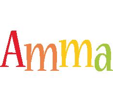 Amma birthday logo