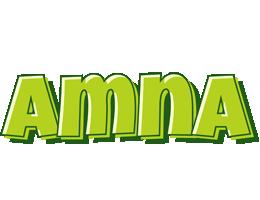 Amna summer logo