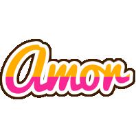 Amor smoothie logo