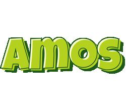 Amos summer logo