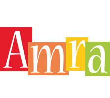 Amra colors logo