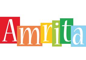 Amrita colors logo