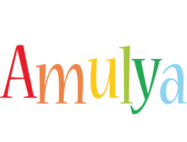Amulya birthday logo