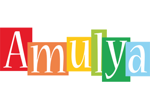 Amulya colors logo