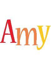 Amy birthday logo