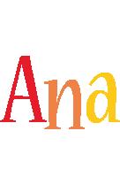 Ana birthday logo