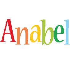 Anabel birthday logo