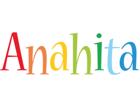 Anahita birthday logo