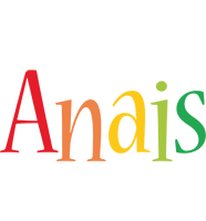 Anais birthday logo