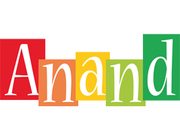 Anand colors logo