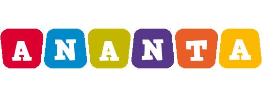Ananta kiddo logo