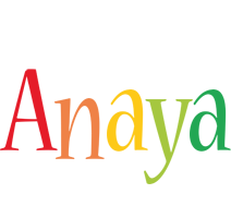 Anaya birthday logo
