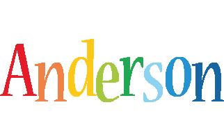 Anderson birthday logo