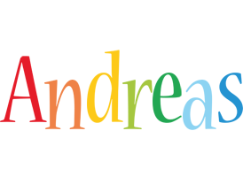 Andreas birthday logo
