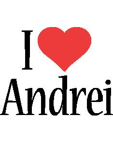 Andrei i-love logo