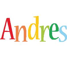 Andres birthday logo