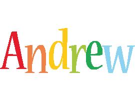 Andrew birthday logo