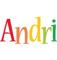 Andri birthday logo