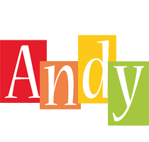 Andy colors logo