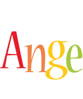 Ange birthday logo