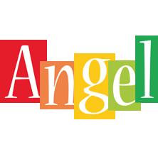 Angel colors logo