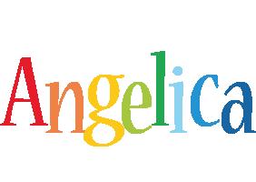 Angelica birthday logo