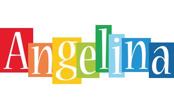 Angelina colors logo