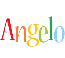 Angelo birthday logo