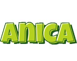 Anica summer logo