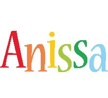 Anissa birthday logo