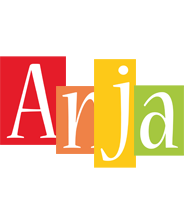 Anja colors logo