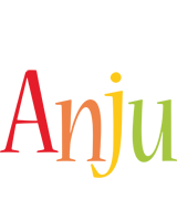 Anju birthday logo