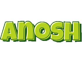 Anosh summer logo