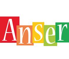 Anser colors logo