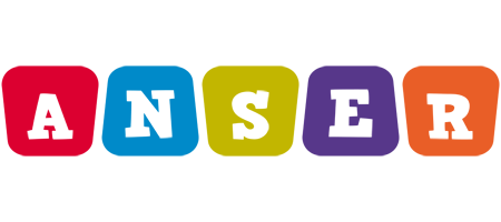 Anser kiddo logo