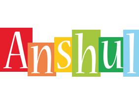 Anshul colors logo