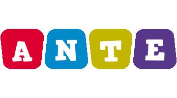Ante kiddo logo