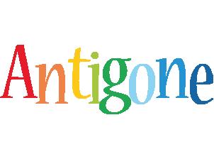 Antigone birthday logo