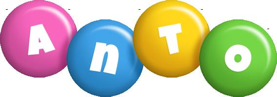 Anto Logo Name Logo Generator Candy Pastel Lager