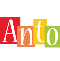 Anto colors logo