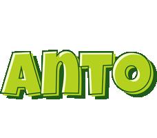 Anto summer logo