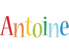Antoine birthday logo
