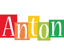 Anton colors logo