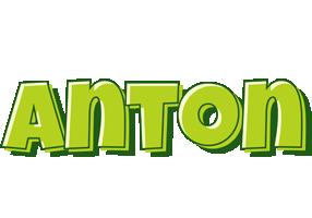 Anton summer logo