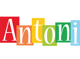 Antoni colors logo