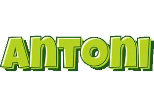 Antoni summer logo