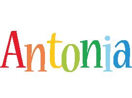 Antonia birthday logo