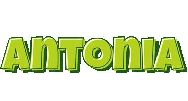 Antonia summer logo