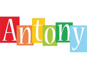 Antony colors logo
